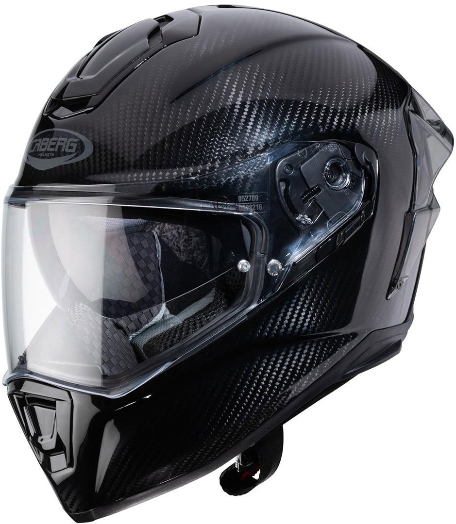 Caberg Drift Evo Carbon Pro Helm, schwarz, Größe M, schwarz, Größe M