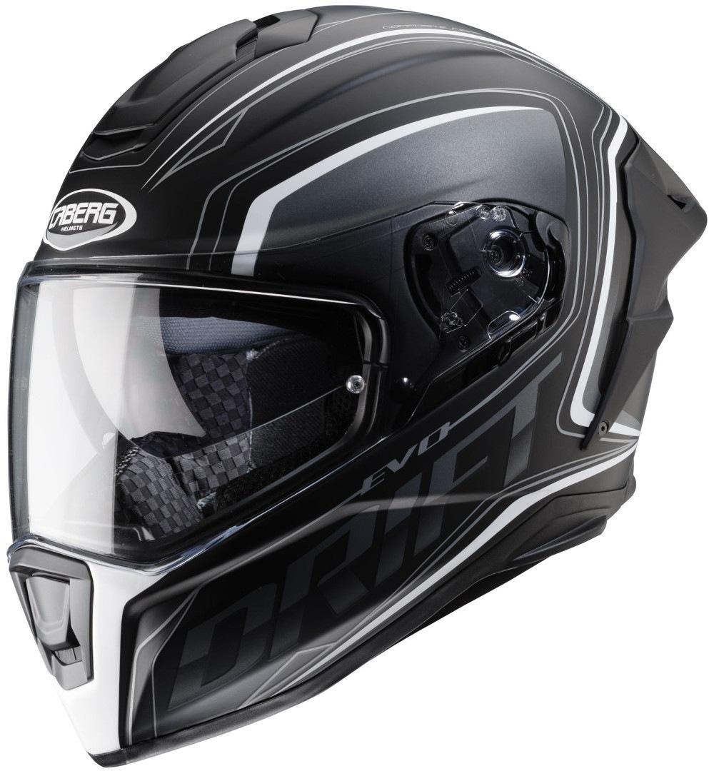 Caberg Drift Evo Integra Helm, schwarz-weiss, Größe XL, schwarz-weiss, Größe XL