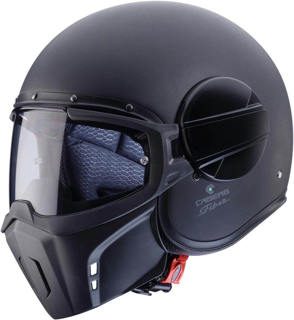Caberg Ghost Helm, schwarz, Größe S, schwarz, Größe S