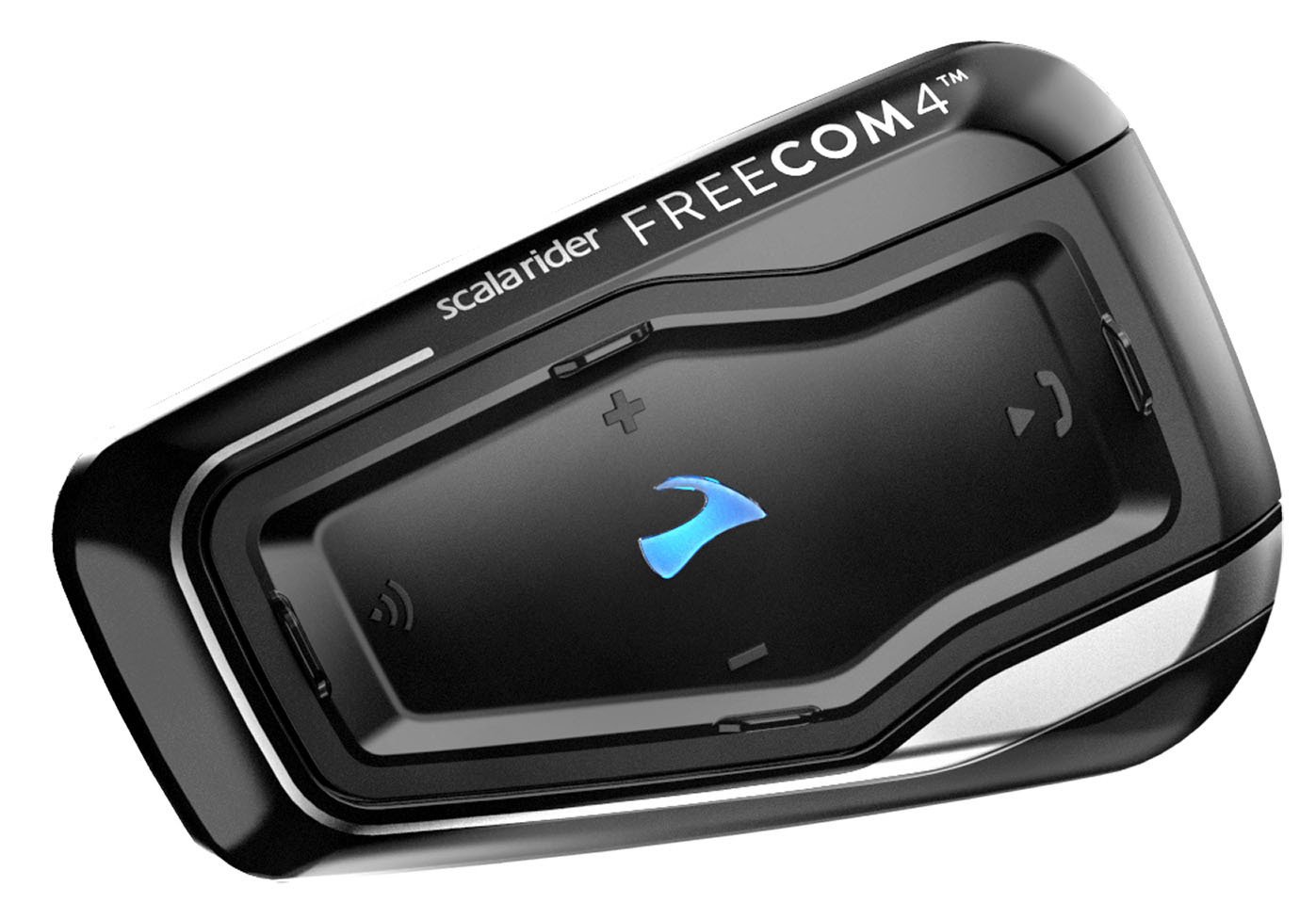 Cardo Scala Rider Freecom 4 Kommunikationssystem Einzelpack, schwarz, schwarz