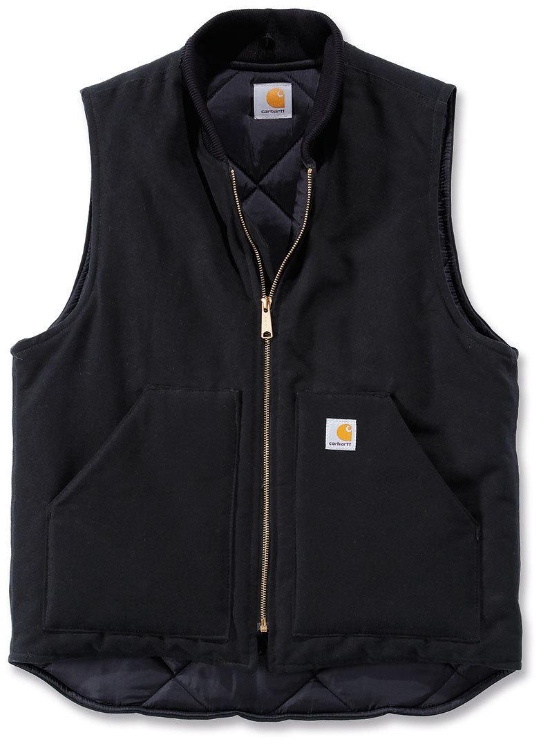 Carhartt Duck Arctic Quilt Lined Weste, schwarz, Größe XL, schwarz, Größe XL