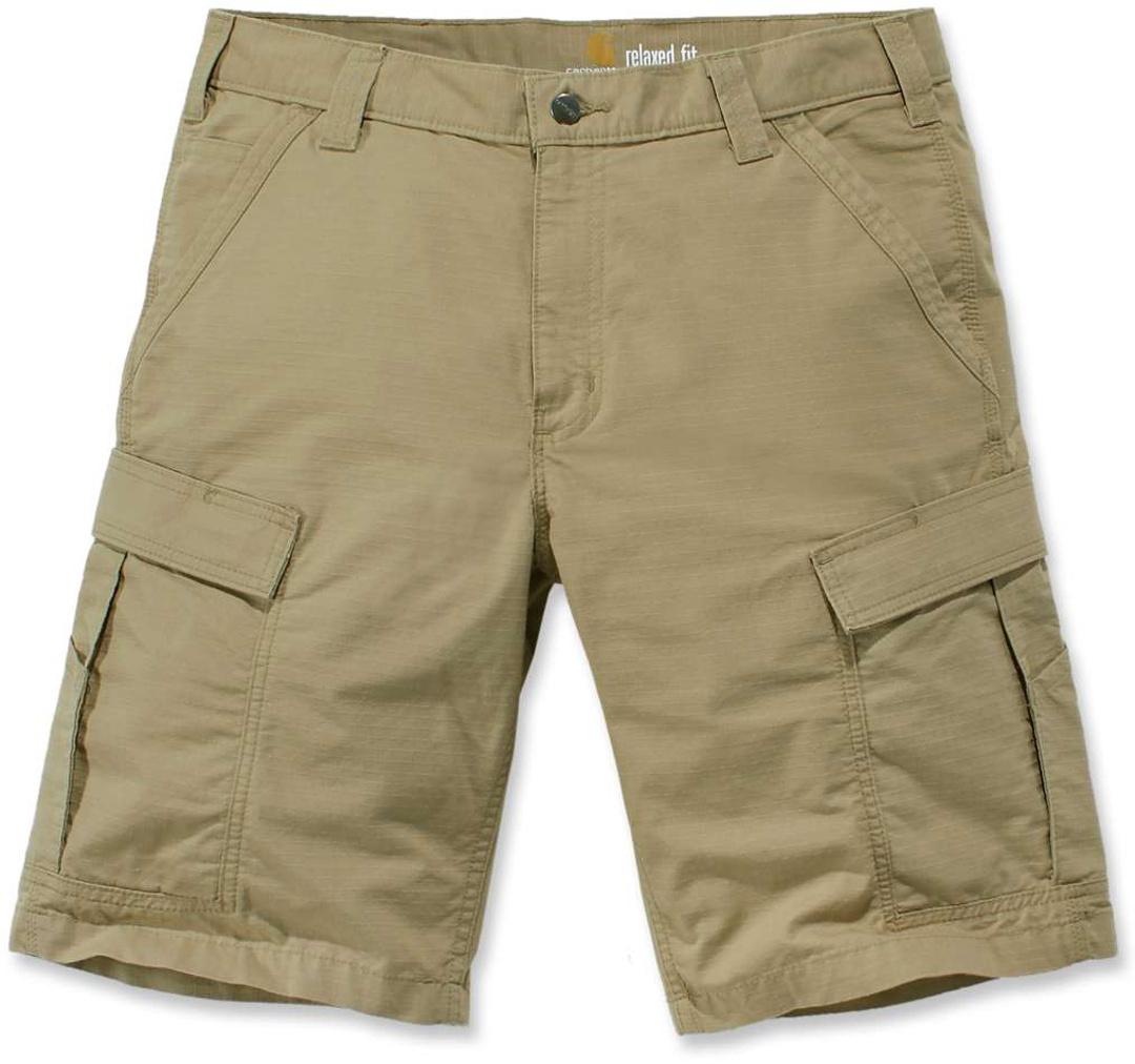 Carhartt Force® Broxton Cargo Shorts, grün-braun, Größe 40, grün-braun, Größe 40