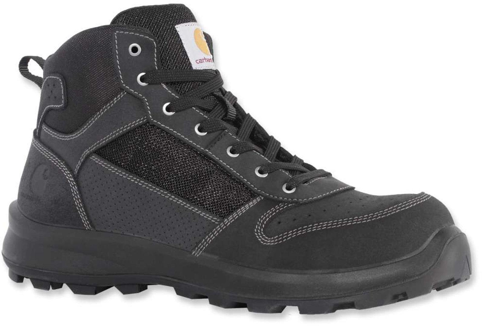 Carhartt Mid S1P Stiefel, schwarz, Größe 48, schwarz, Größe 48