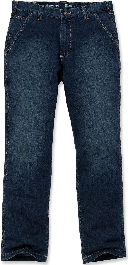 Carhartt Rugged Flex Relaxed Jeans, blau, Größe 32, blau, Größe 32