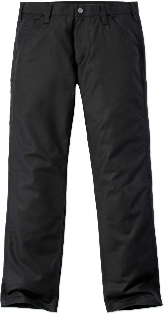 Carhartt Rugged Stretch Canvas Hose, schwarz, Größe 34, schwarz, Größe 34