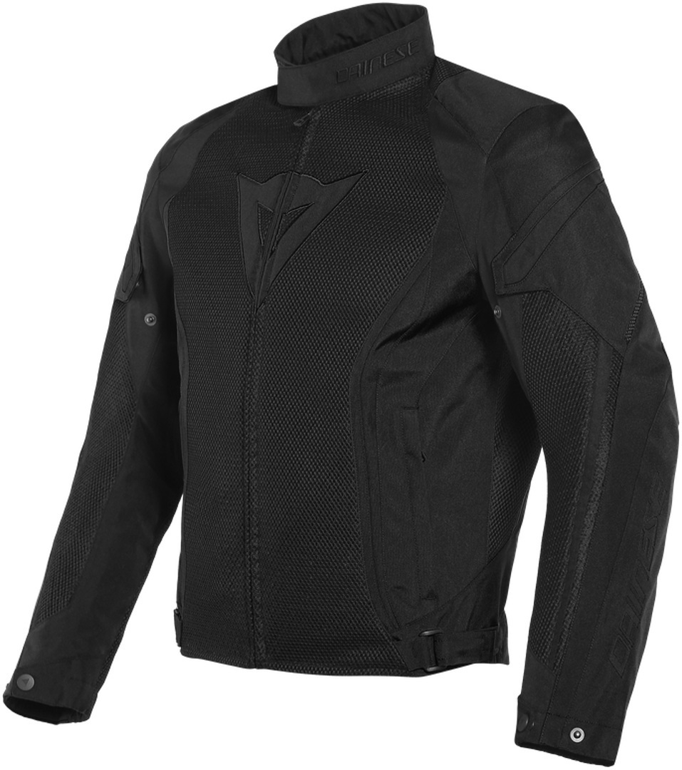 Dainese Air Crono 2 Tex Motorrad Textiljacke, schwarz, Größe 50, schwarz, Größe 50