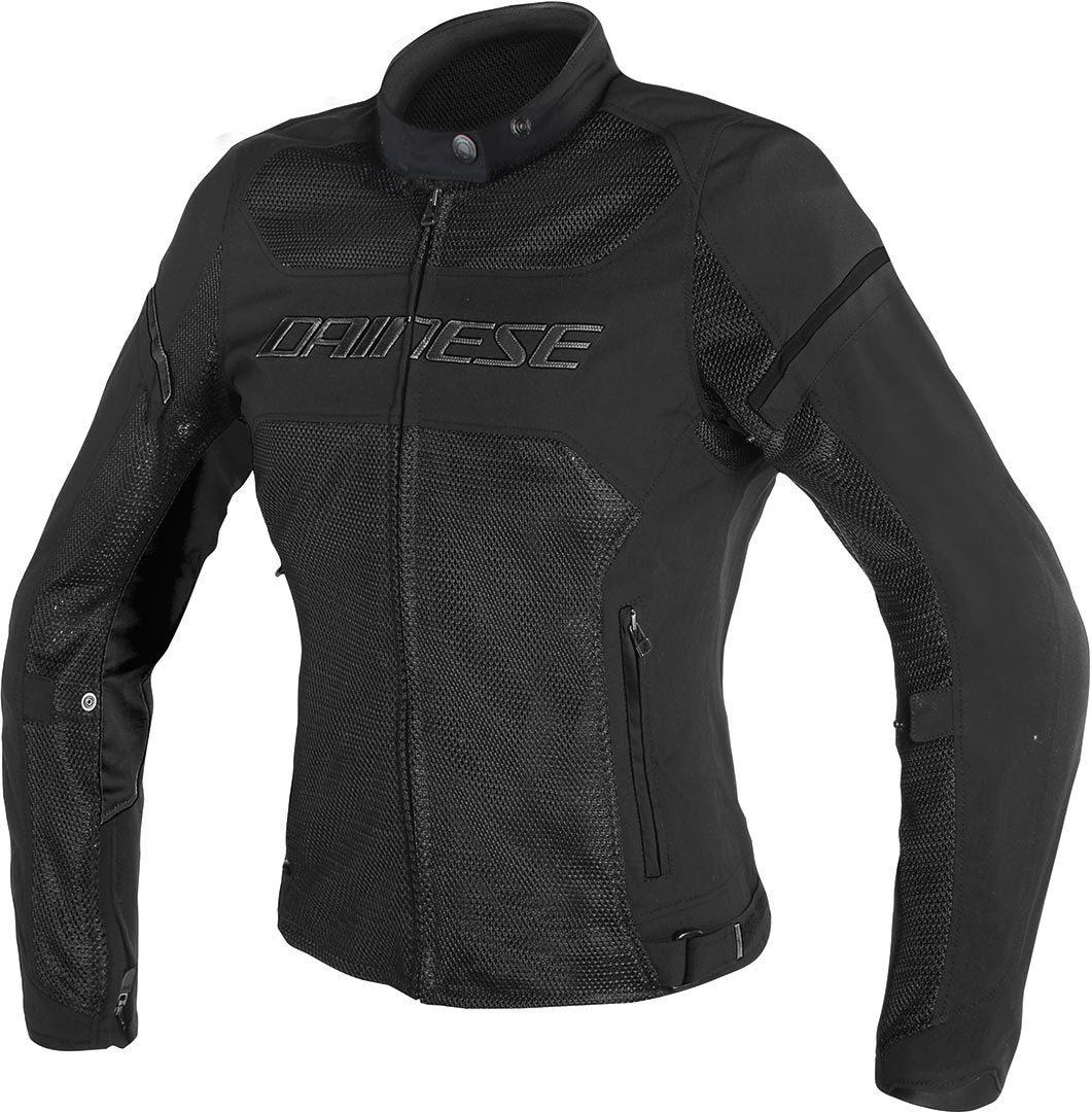 Dainese Air Frame D1 Tex Damen Motorrad Textiljacke, schwarz, Größe 52, schwarz, Größe 52