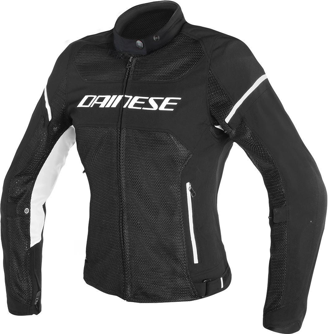 Dainese Air Frame D1 Tex Damen Motorrad Textiljacke, schwarz-weiss, Größe 44, schwarz-weiss, Größe 44
