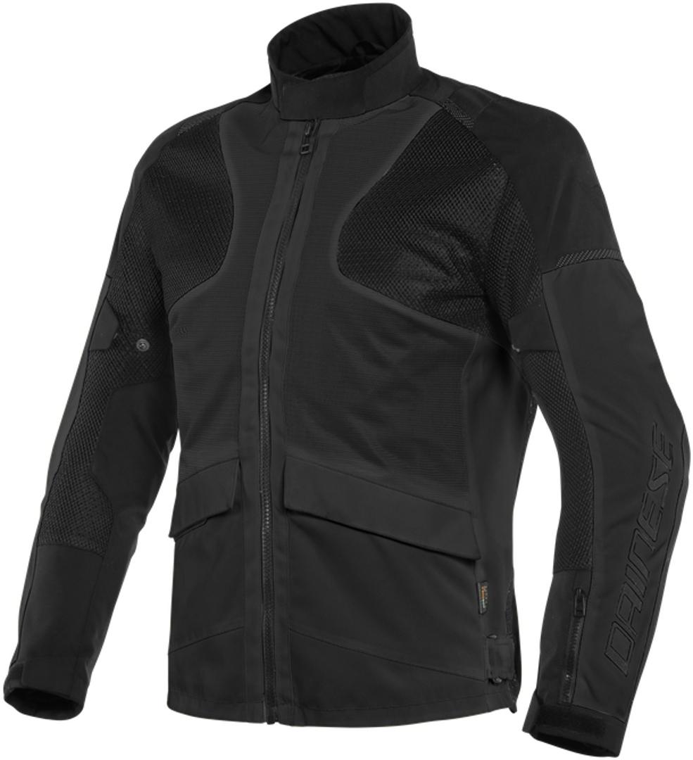 Dainese Air Tourer Motorrad Textiljacke, schwarz, Größe 50, schwarz, Größe 50