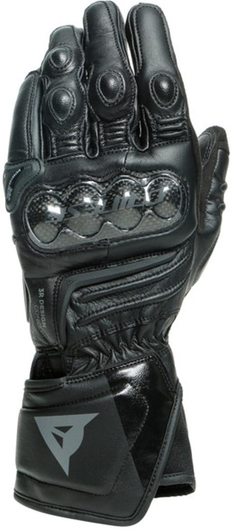 Dainese Carbon 3 Long Motorradhandschuhe, schwarz, Größe 2XL, schwarz, Größe 2XL