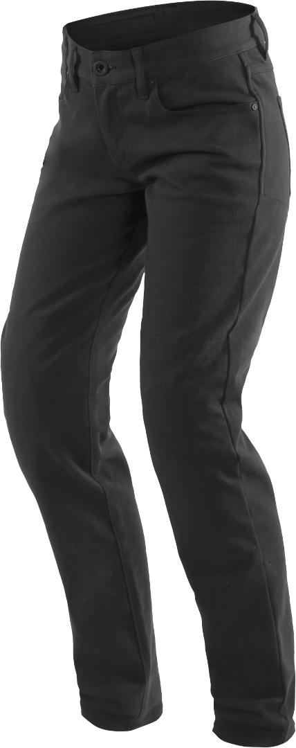Dainese Casual Slim Damen Motorrad Textilhose, schwarz, Größe 29, schwarz, Größe 29