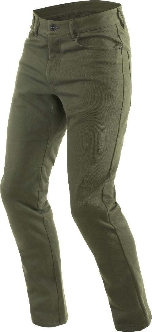Dainese Classic Slim Motorrad Textilhose, grün, Größe 37, grün, Größe 37
