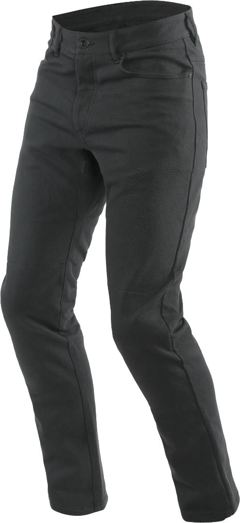 Dainese Classic Slim Motorrad Textilhose, schwarz, Größe 31, schwarz, Größe 31