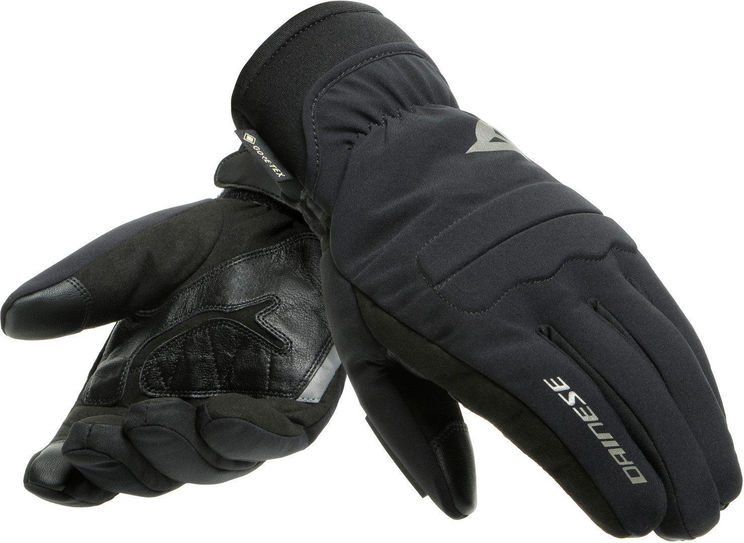 Dainese Como Gore-Tex Motorradhandschuhe, schwarz, Größe XL, schwarz, Größe XL