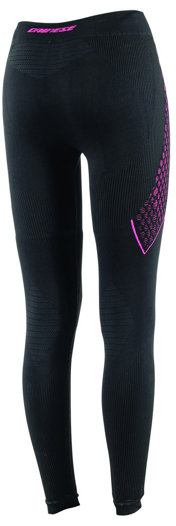 Dainese D-Core Thermo LL Hose, schwarz-pink, Größe L für Frauen, schwarz-pink, Größe L