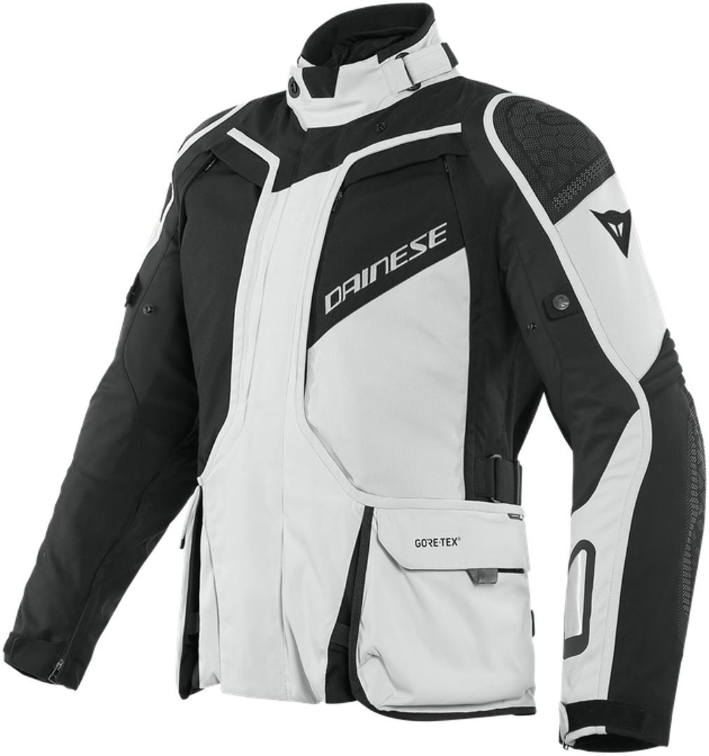 Dainese D-Explorer 2 Gore-Tex Motorrad Textiljacke, schwarz-grau, Größe 48, schwarz-grau, Größe 48