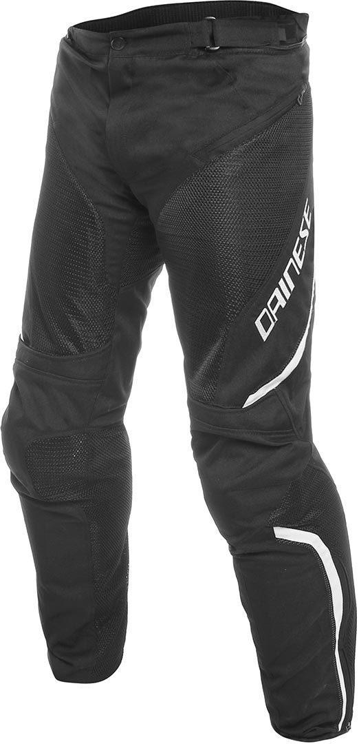 Dainese Drake Air D-Dry Motorrad Textilhose, schwarz-weiss, Größe 62, schwarz-weiss, Größe 62