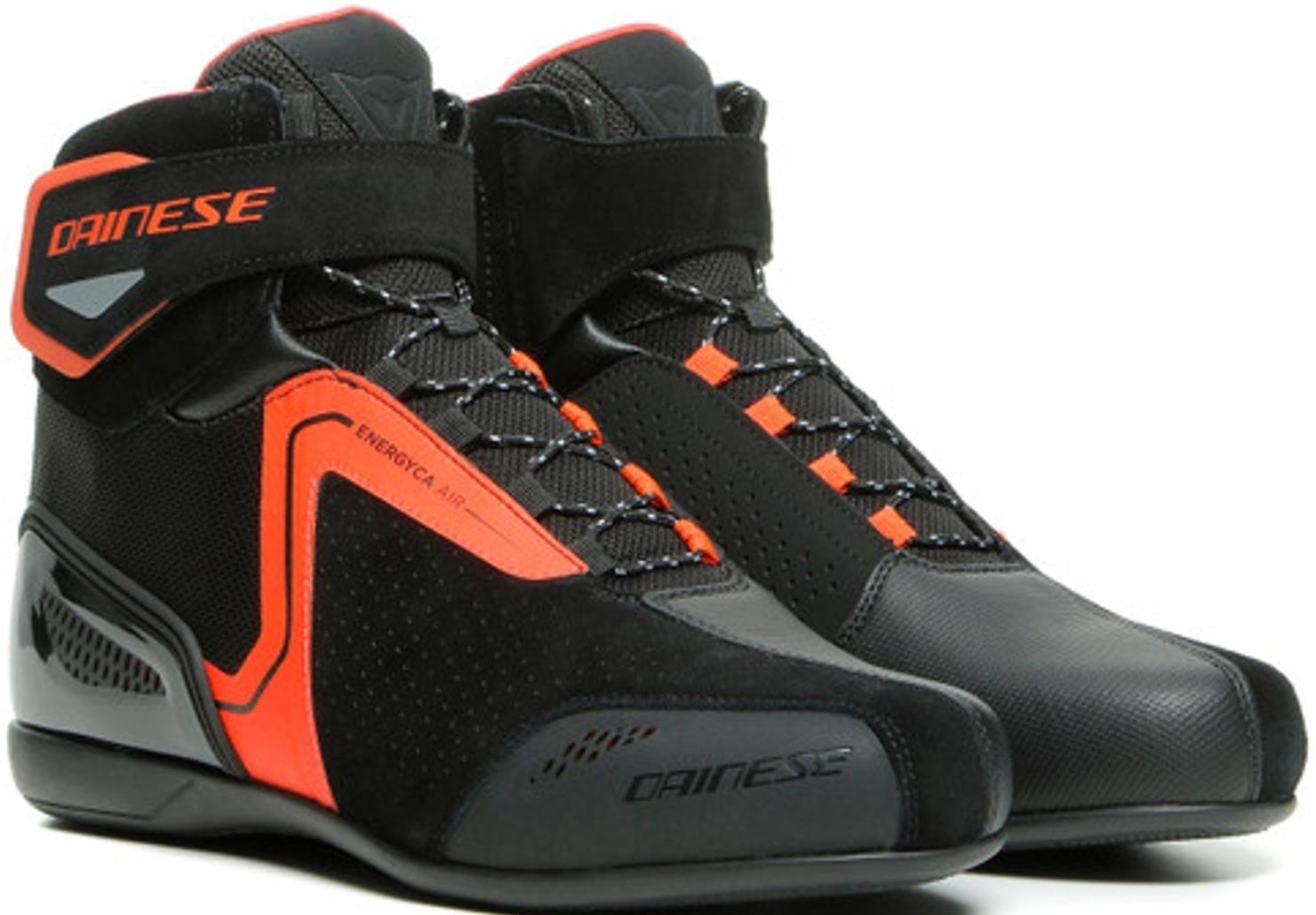 Dainese Energyca Air Motorradschuhe, schwarz-rot, Größe 40, schwarz-rot, Größe 40