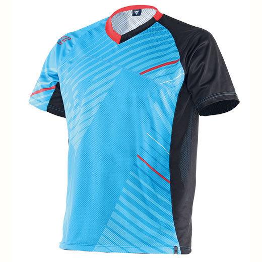 Dainese Flow Tec Jersey, schwarz-blau, Größe S, schwarz-blau, Größe S