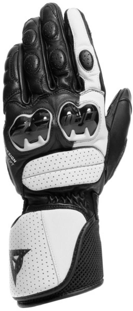 Dainese Impeto Motorradhandschuhe, schwarz-weiss, Größe 2XL, schwarz-weiss, Größe 2XL