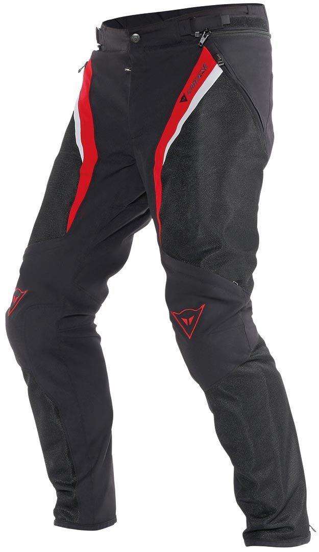 Dainese P. Drake Super Air Textilhose, schwarz-rot, Größe 60, schwarz-rot, Größe 60