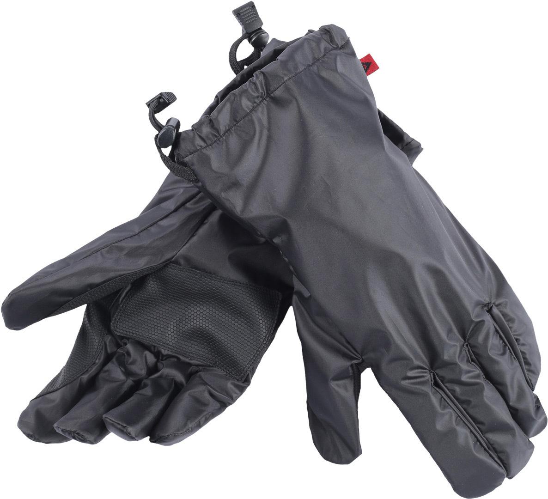 Dainese Regen Überzieh Handschuhe, schwarz, Größe M, schwarz, Größe M