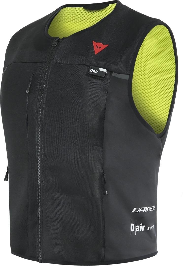 Dainese Smart D-Air® Airbag Weste, schwarz-gelb, Größe S, schwarz-gelb, Größe S