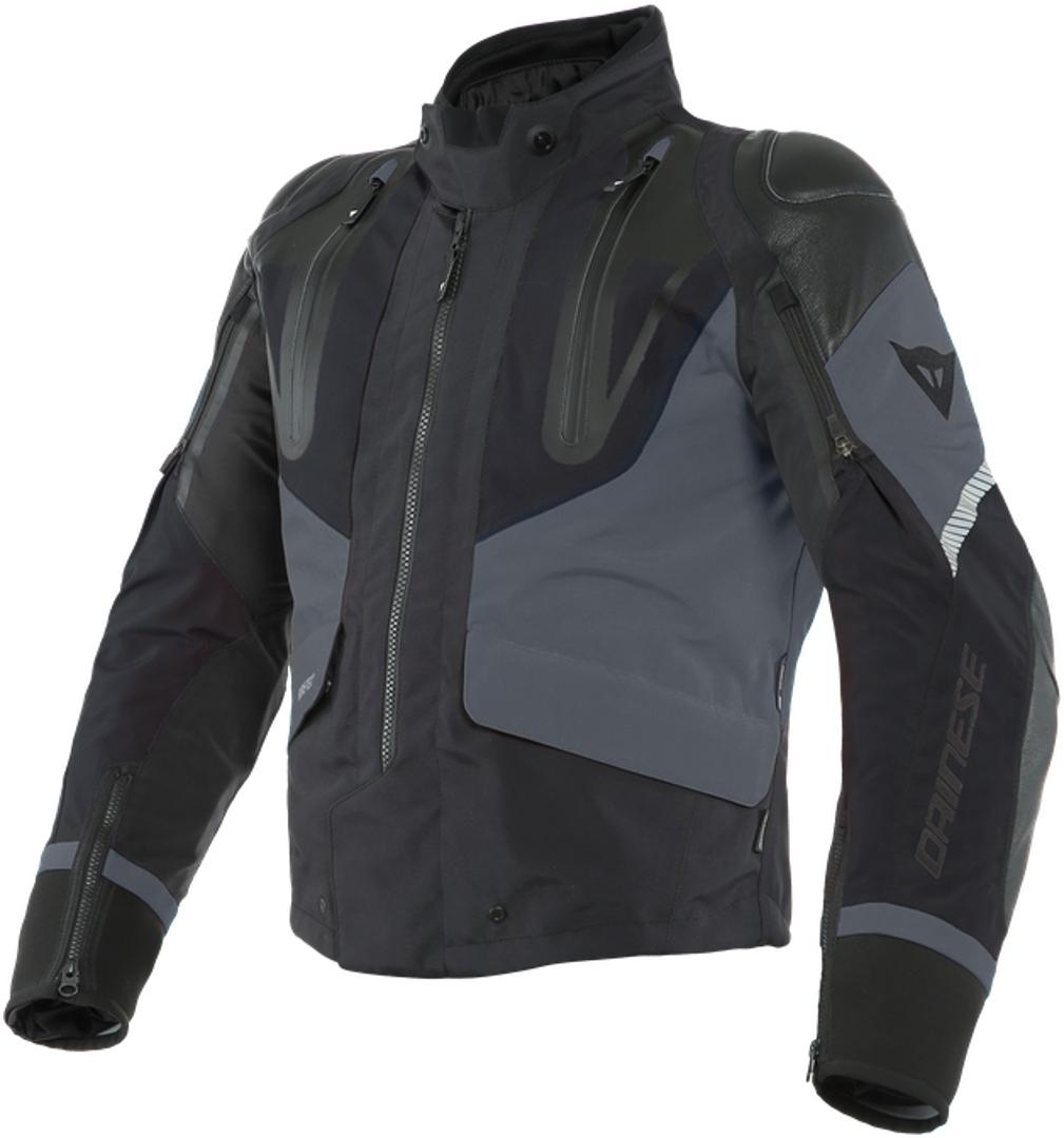 Dainese Sport Master Gore-Tex Motorrad Textiljacke, schwarz-grau, Größe 48, schwarz-grau, Größe 48