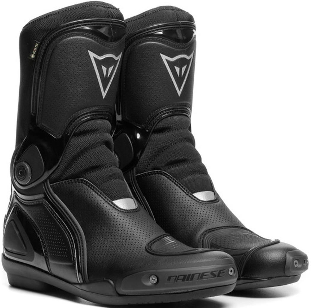 Dainese Sport Master Gore-Tex wasserdichte Motorradstiefel, schwarz, Größe 41, schwarz, Größe 41