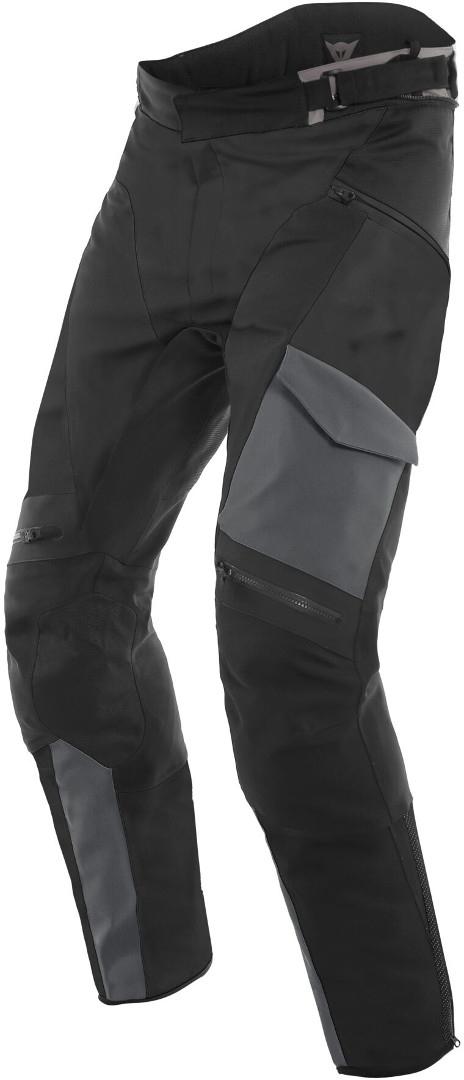 Dainese Tonale D-Dry Motorrad Textilhose, schwarz, Größe 56, schwarz, Größe 56
