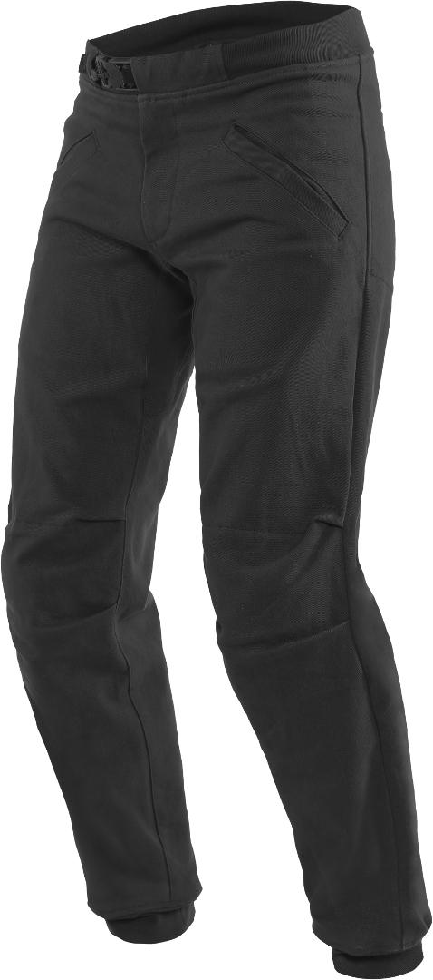 Dainese Trackpants Motorrad Textilhose, schwarz, Größe 30, schwarz, Größe 30