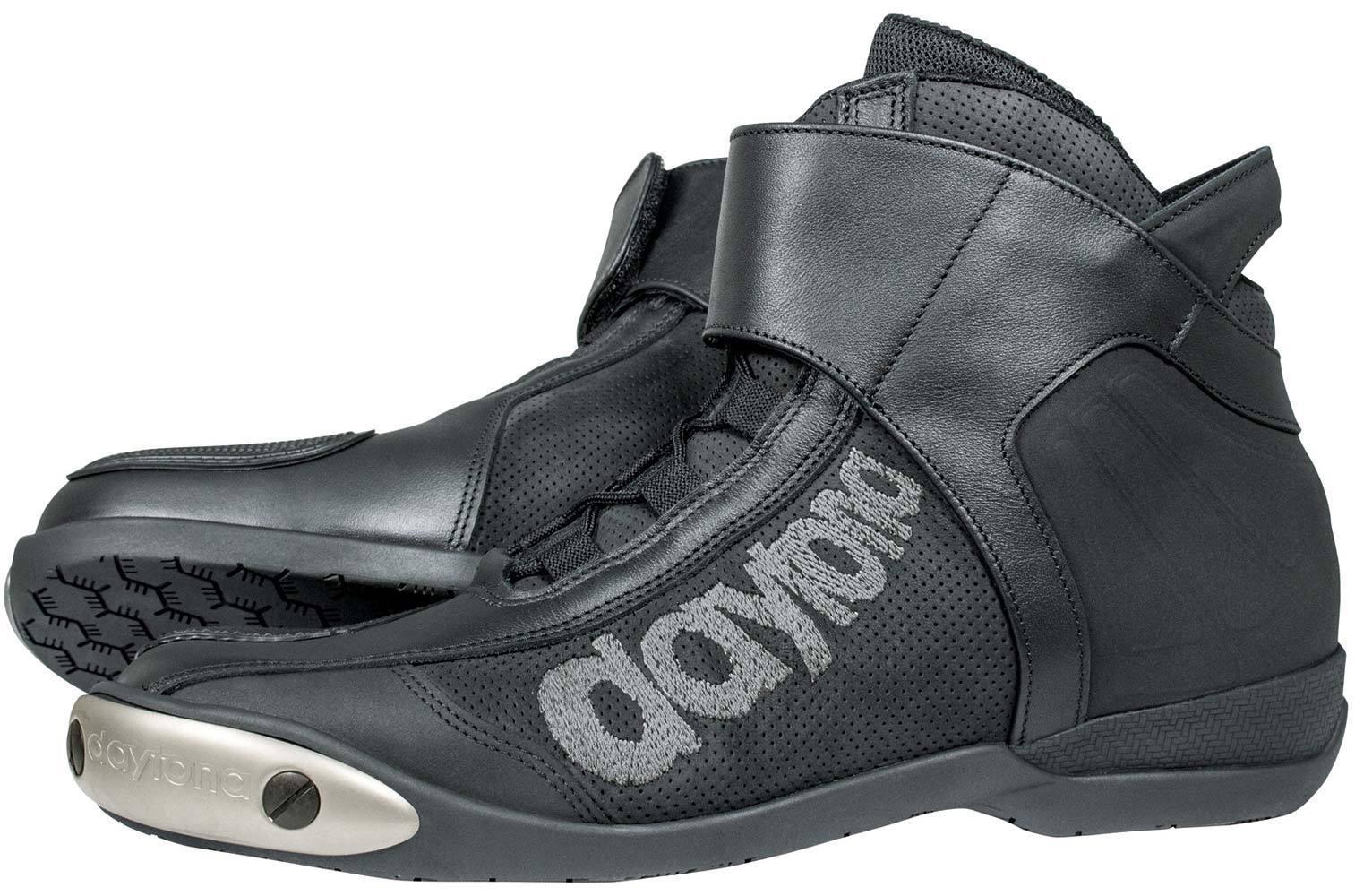 Daytona AC Pro Motorradstiefel, schwarz, Größe 37, schwarz, Größe 37
