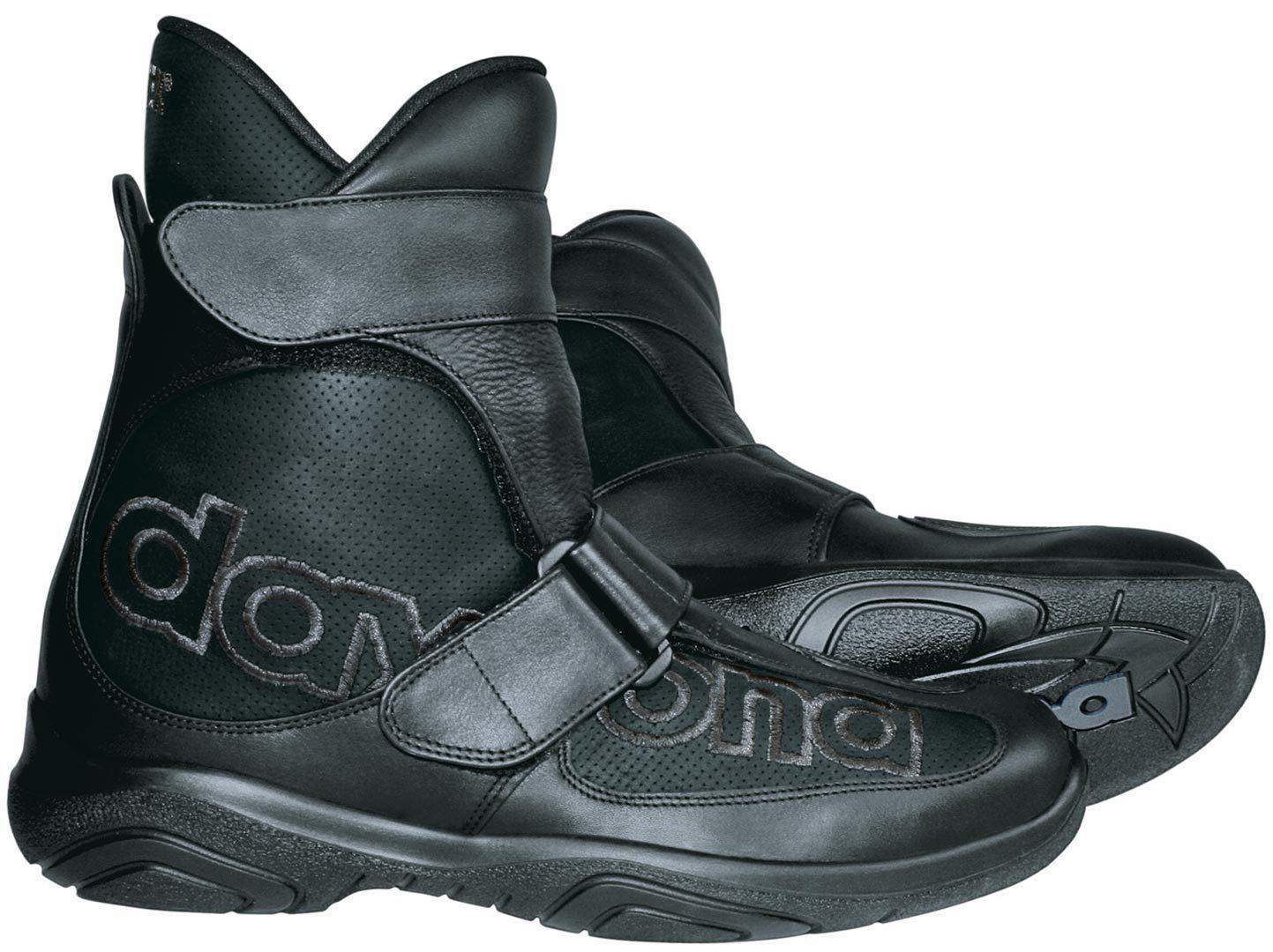 Daytona Journey GTX Gore-Tex wasserdichte Motorradstiefel, schwarz, Größe 43, schwarz, Größe 43