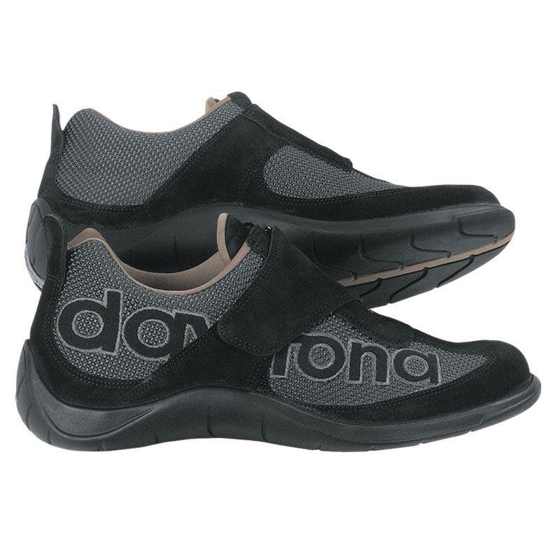 Daytona Moto Fun Motorradschuhe, schwarz-grau, Größe 43, schwarz-grau, Größe 43