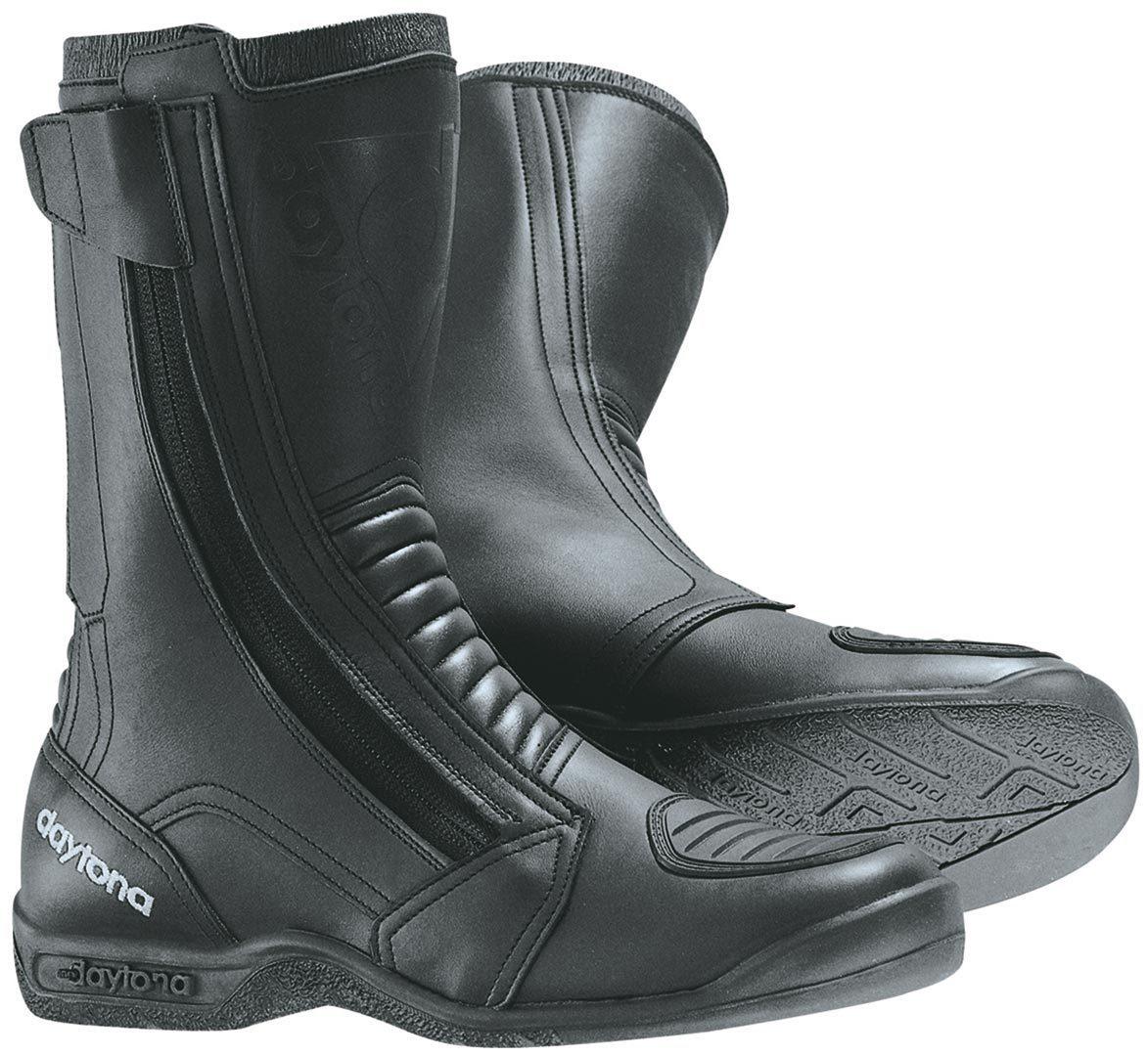 Daytona Toper Basic Motorradstiefel, schwarz, Größe 39, schwarz, Größe 39