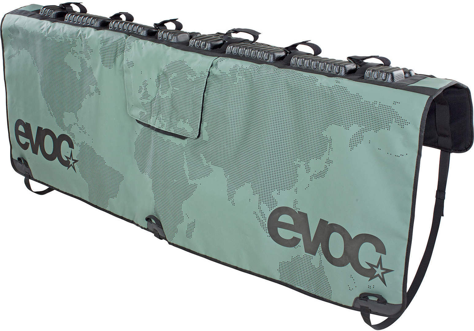 Evoc Tailgate Pad Transportschutz, grün, Größe XL, grün, Größe XL