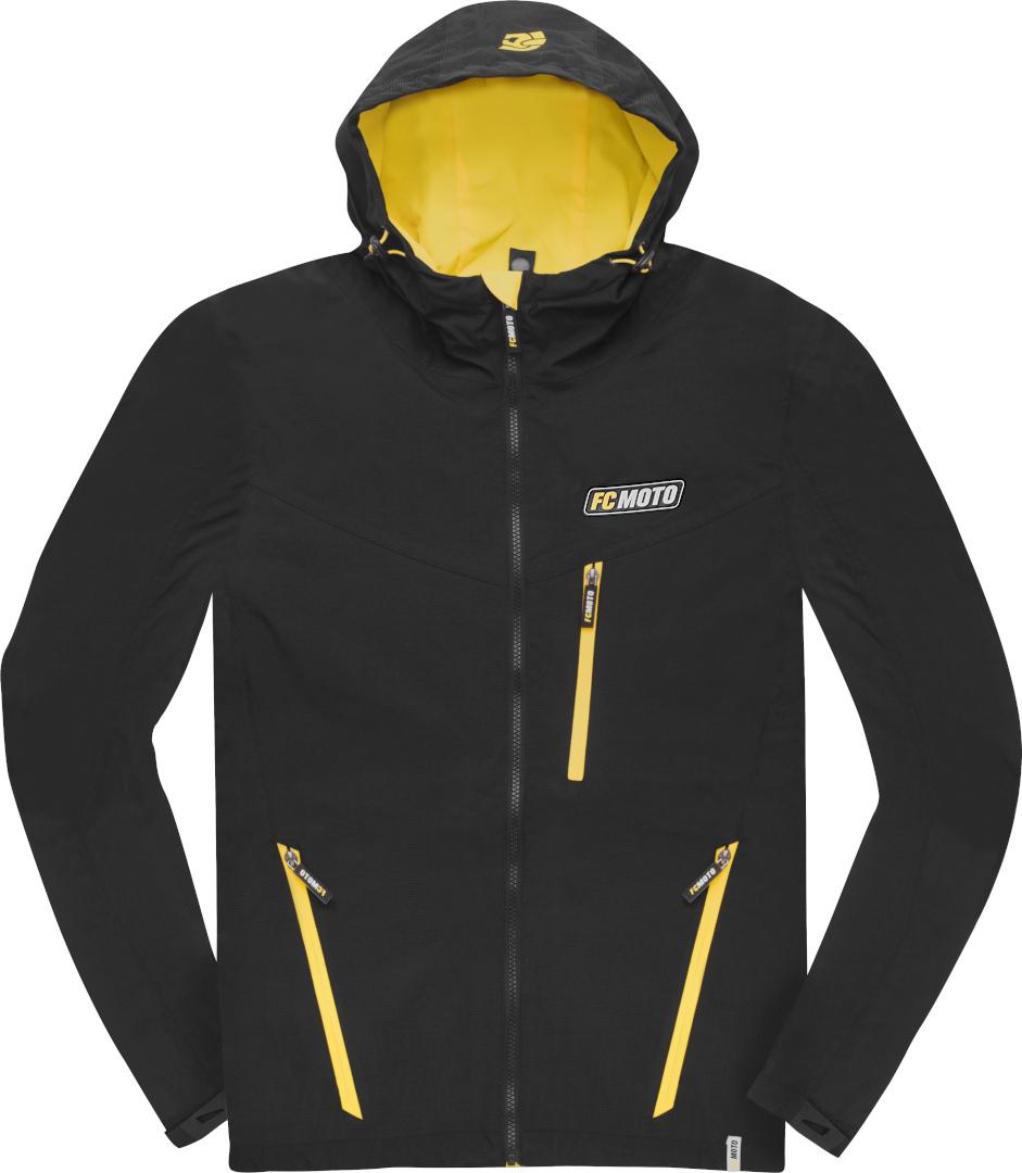 FC-Moto Crew-J Jacke, schwarz-gelb, Größe M, schwarz-gelb, Größe M