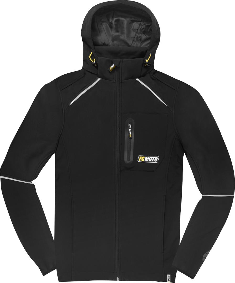FC-Moto FCM-SSJ Softshell Jacke, schwarz, Größe XL, schwarz, Größe XL