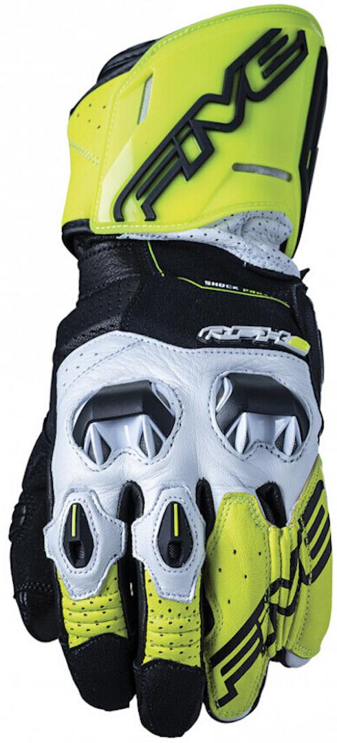 Five RFX2 2020 Motorradhandschuhe, gelb, Größe L, gelb, Größe L