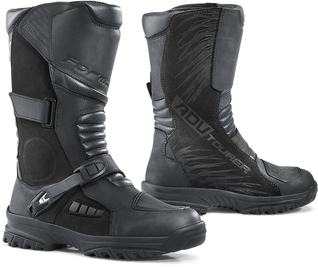 Forma ADV Tourer wasserdichte Motorradstiefel, schwarz, Größe 38, schwarz, Größe 38