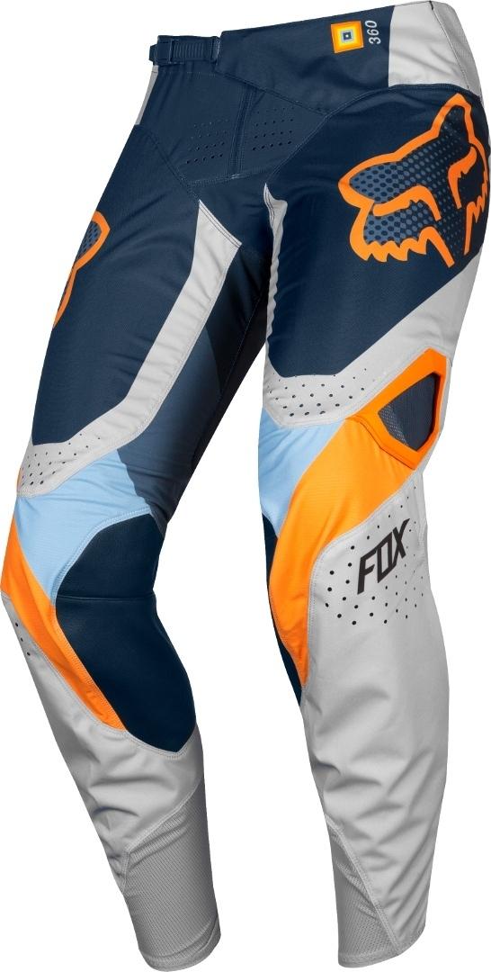 FOX 360 Murc Motocross Jugend Hose, grau, Größe 28, grau, Größe 28