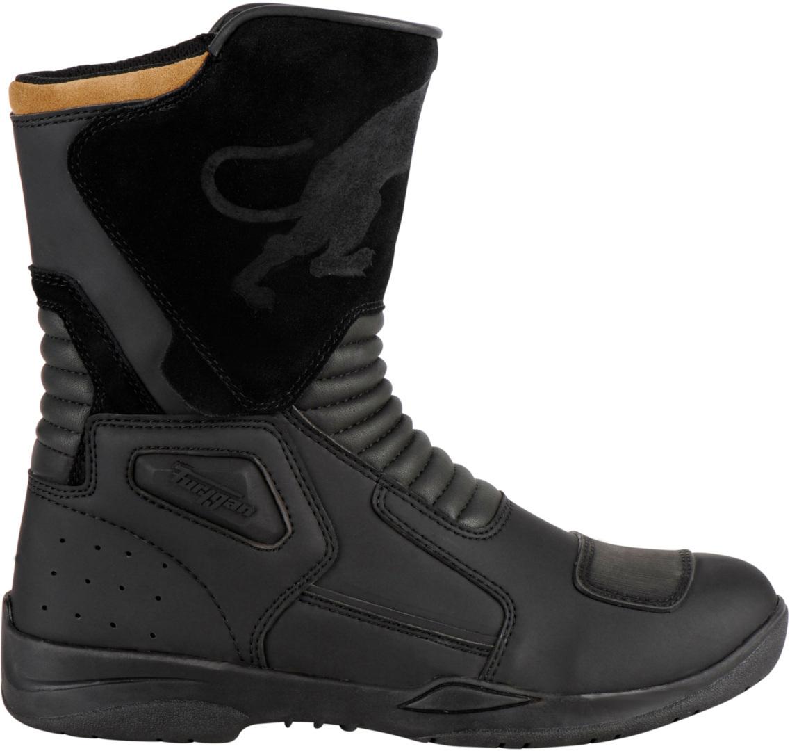 Furygan Boot GT D3O WP Motorradstiefel, schwarz, Größe 43, schwarz, Größe 43