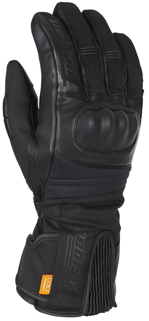 Furygan Furylong D3O Motorradhandschuhe, schwarz, Größe L, schwarz, Größe L