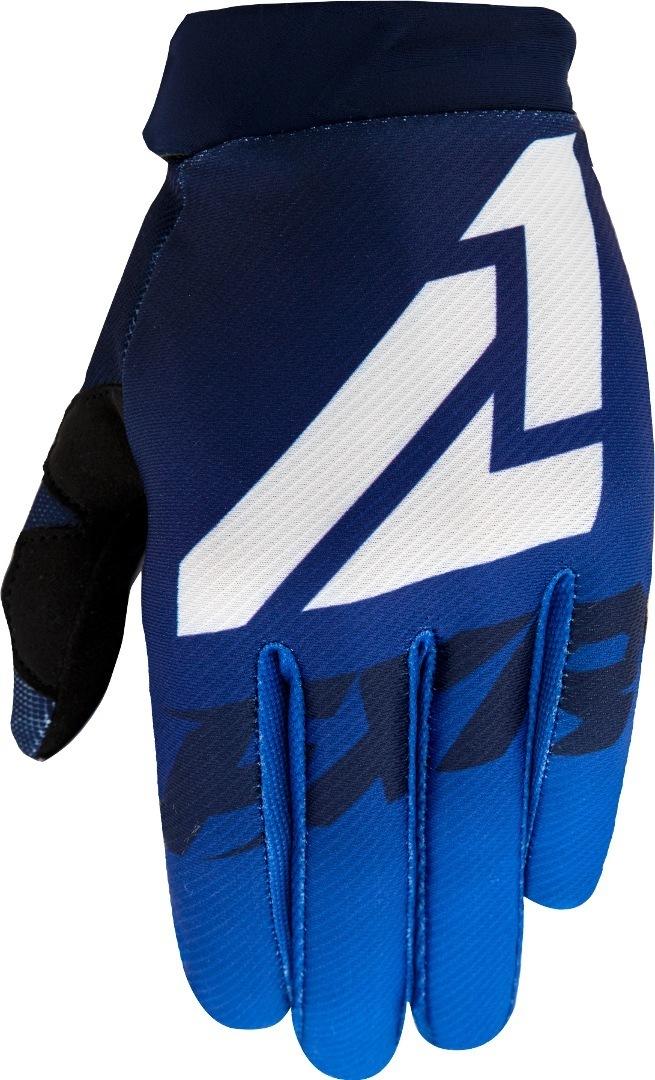 FXR Clutch Strap MX Gear Motocross Handschuhe, weiss-blau, Größe 2XL, weiss-blau, Größe 2XL