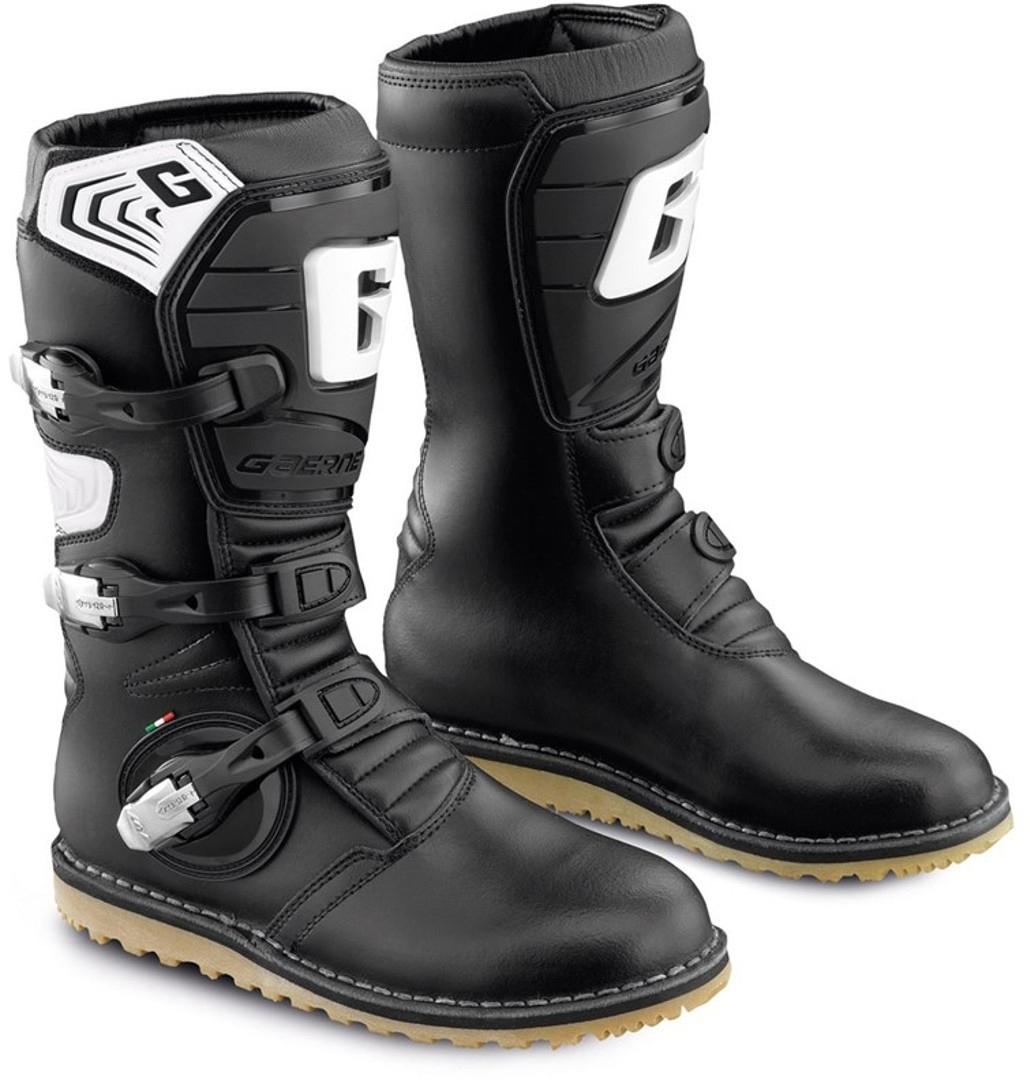 Gaerne Balance Pro Tech Motorradstiefel, schwarz, Größe 47, schwarz, Größe 47