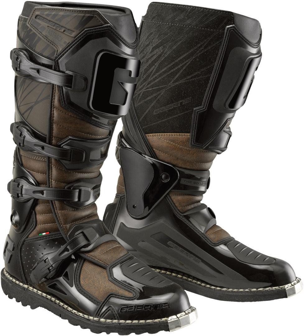 Gaerne Fastback Endurance Enduro Motocross Stiefel, braun, Größe 39, braun, Größe 39