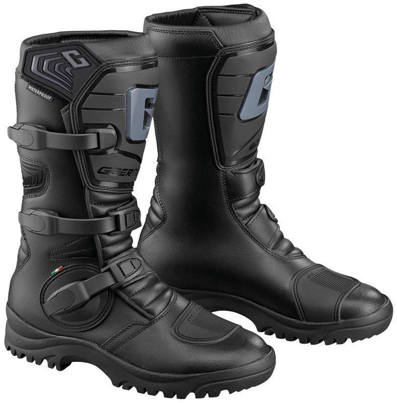 Gaerne G-Adventure Aquatech Offroad wasserdichte Stiefel, schwarz, Größe 46, schwarz, Größe 46