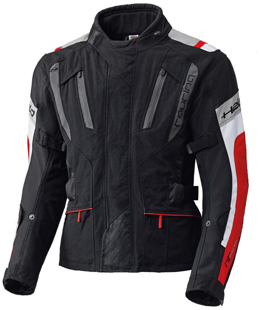Held 4-Touring Textiljacke, schwarz-rot, Größe M, schwarz-rot, Größe M