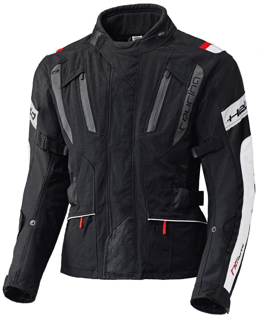 Held 4-Touring Textiljacke, schwarz-weiss, Größe 3XL, schwarz-weiss, Größe 3XL