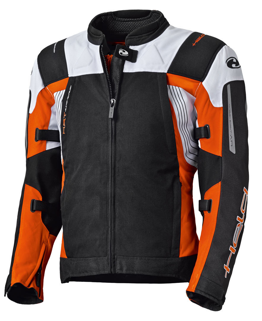 Held Antaris Motorrad Textiljacke, schwarz-orange, Größe XS, schwarz-orange, Größe XS